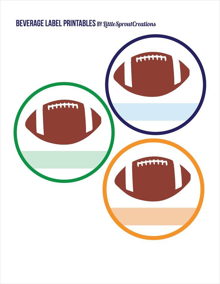 17 Best images about Super Bowl/Football Party Printables on ...