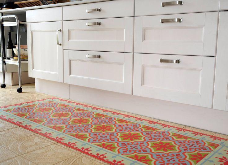 Kitchen Floor Tile Makeover