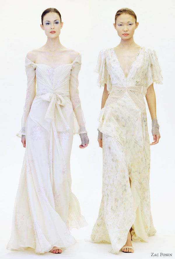 84 best gowns images on pinterest classy dress ball for Zac posen short wedding dress