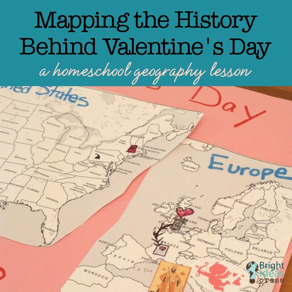 41 best bright ideas press shop images on pinterest bright ideas mapping the history behind valentines day a homeschool geography lesson fandeluxe Image collections