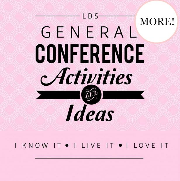 Conference Fun Bags 2014  & General Conference Round Up