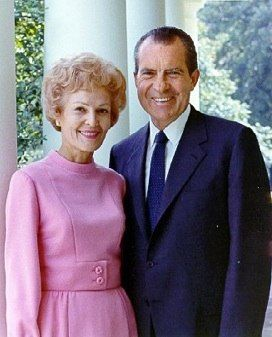 President Richard and First Lady Pat Nixon 37th President 1969-1974
