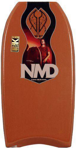NMD Board Jase Finlay PP Bodyboard, Copper, 42-Inch