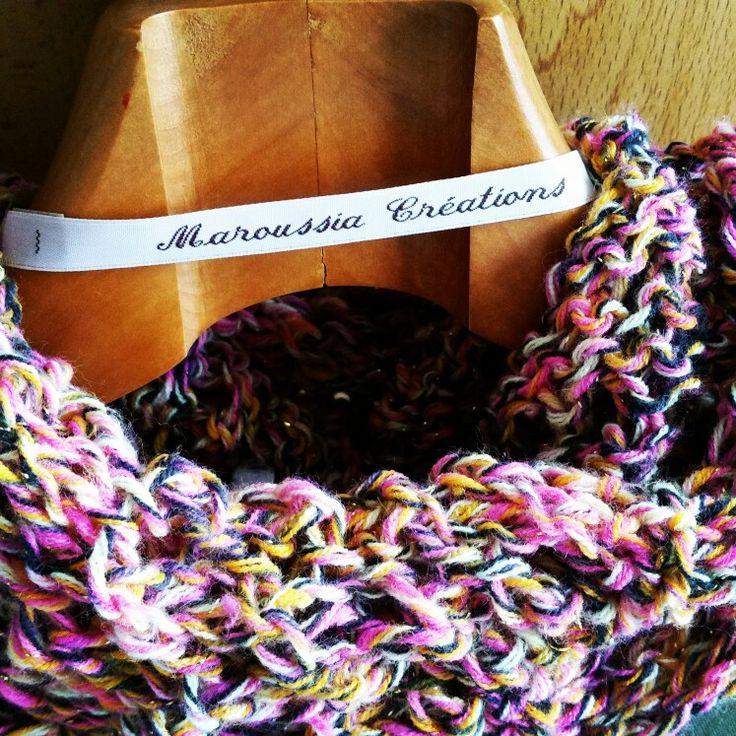 Snood laine et coton