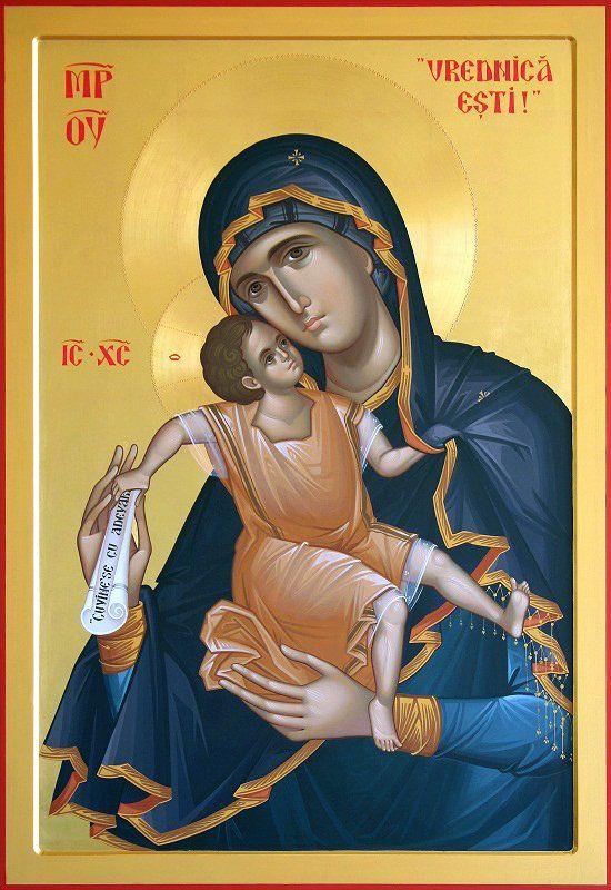 Икона: Богородичные иконы Габриела Урсуца (Румыния) - Записки мирянина (Dr.Alex)