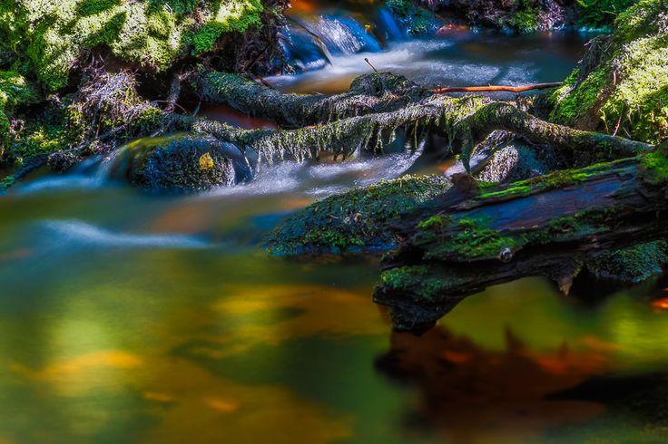 The creek in Korouoma Posio Finland.