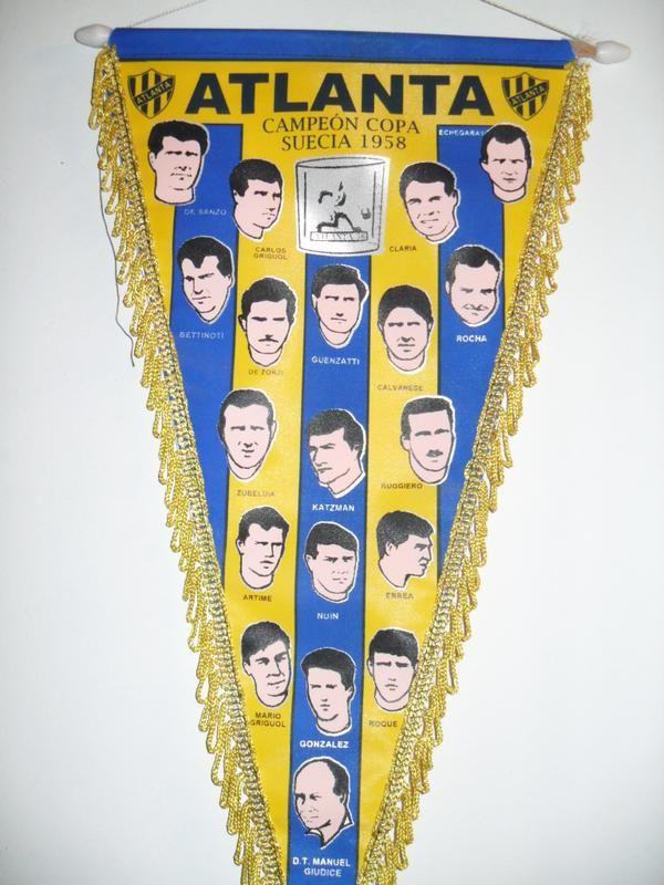 A 56 años de la obtención de la Copa Suecia – C.A.Atlanta