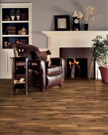 Armstrong Century Farm Walnut Autumn Dusk Flooring With