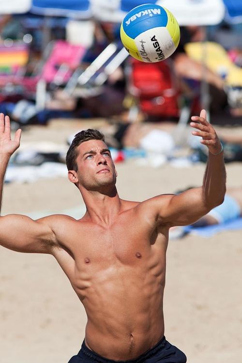 well.... ALL volleyball players aren't girls. :) Enjoy ...