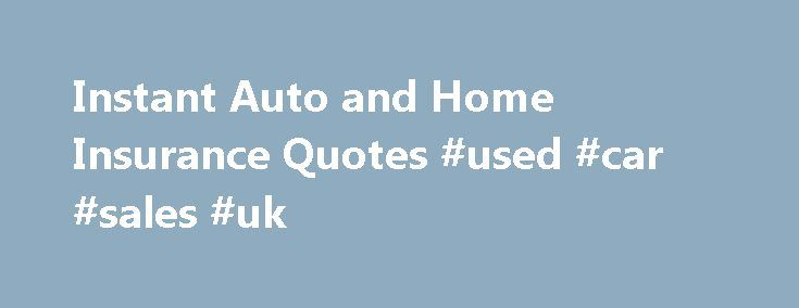 Instant Auto and Home Insurance Quotes #used #car #sales #uk http://autos.remmont.com/instant-auto-and-home-insurance-quotes-used-car-sales-uk/  #compare auto insurance # Home and Auto Insurance Comparison – Find the best policy for your house and car! AgentInsure is a fast, easy, and accurate house insurance and car... Read more >The post Instant Auto and Home Insurance Quotes #used #car #sales #uk appeared first on Auto.