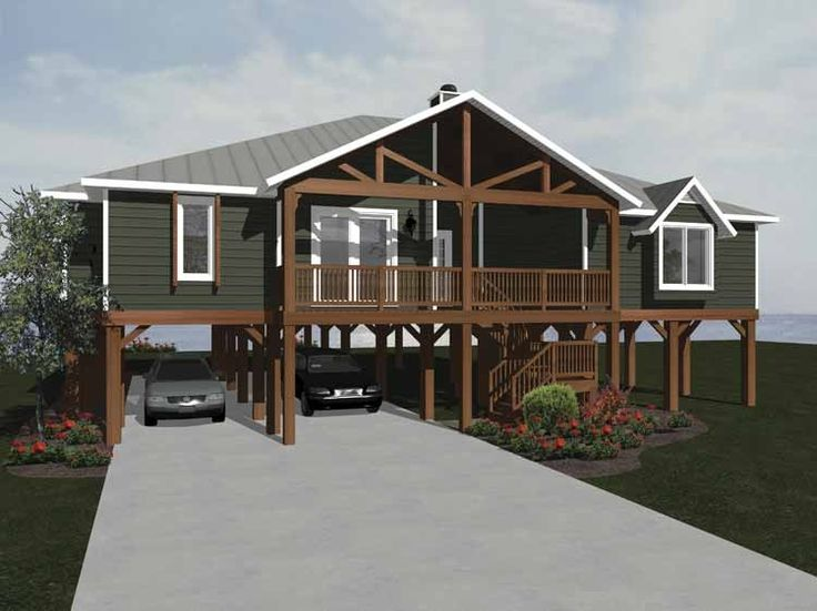 Craftsman House Plan with 1902 Square Feet and 3 Bedrooms from Dream Home Source | House Plan Code DHSW68181