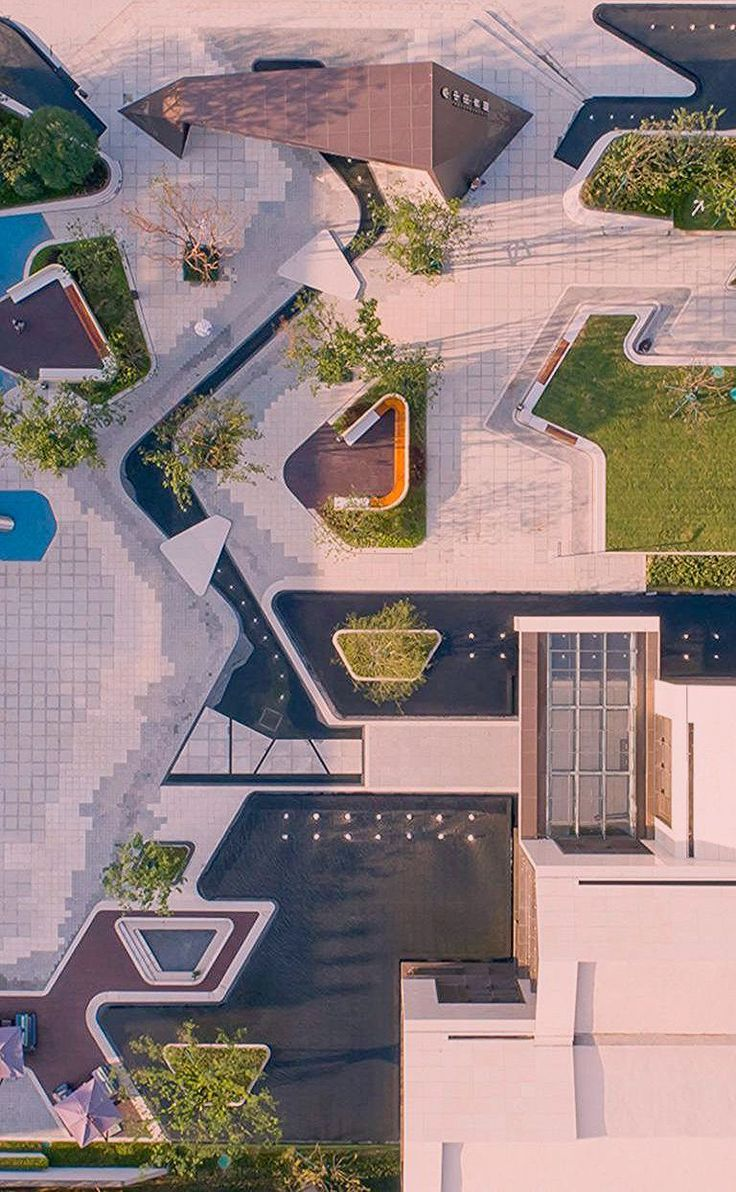 A centre for Wuxi (With images) Urban design graphics