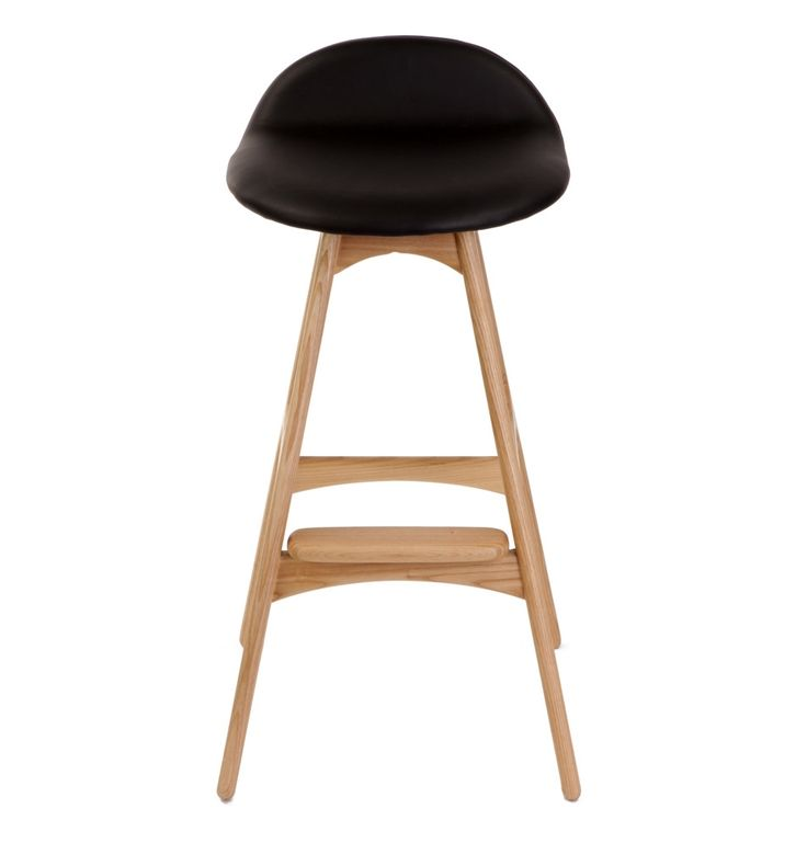 Replica Erik Buch Bar Stool 66cm - Ash by Erik Buch - Matt Blatt. CrutchOffice FurnitureModern ...  sc 1 st  Pinterest & 16 best Bar stools and Dining chairs images on Pinterest | Dining ... islam-shia.org