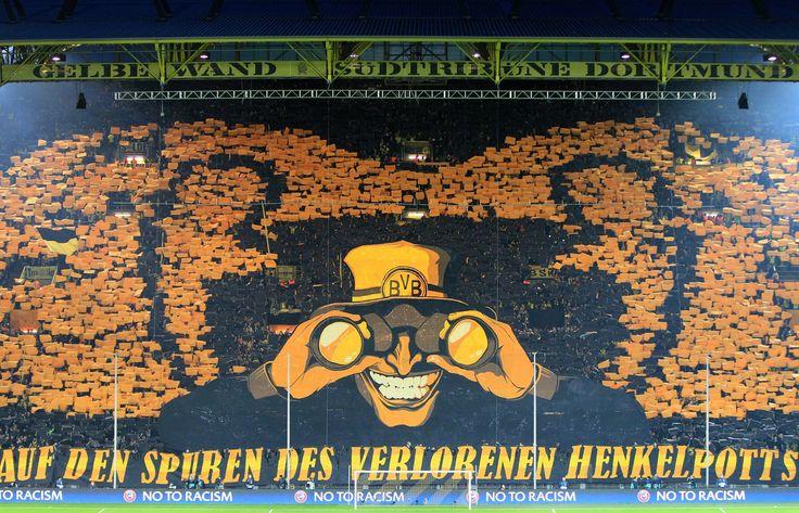 http://www.lamula.fr/championnats-laffluence-plus-forte/  #stade #football #foot #Dortmund