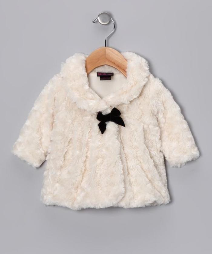 1ac5b699fa458 Le manteau bébé fille en 42 photos mignonnes | Favorite outfits | Stylish  baby girls, Fur, Baby girl fashion