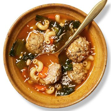 Turkey Meatballs and Escarole | Recipe | Turkey Meatballs, Turkey and ...