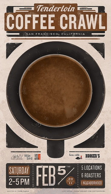 coffe poster - need to investigate about this because I'd be all over it!
