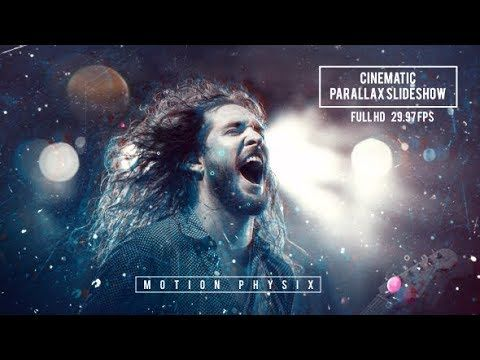 Cinematic Parallax Slideshow | After Effects Template | The Best