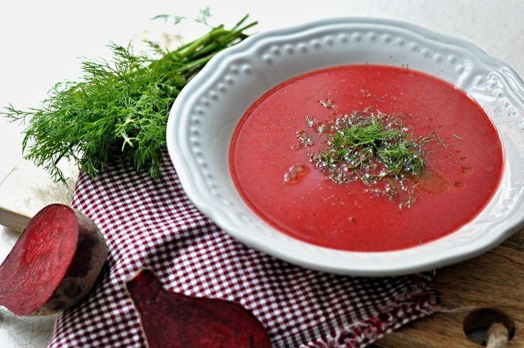 Kitchen story | Polévka z červené řepy | http://www.kitchenstory.cz