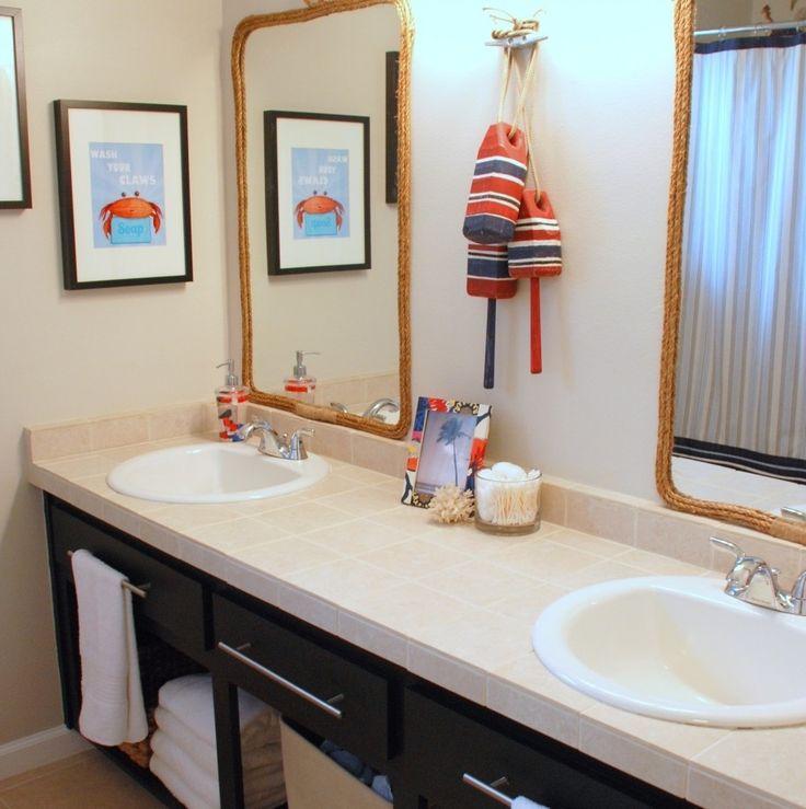 Best 25 Beach Themed Bathrooms Ideas On Pinterest: Best 25+ Nautical Bathrooms Ideas On Pinterest