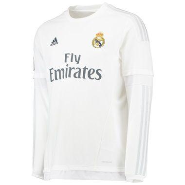 Camiseta Real Madrid primera equipacion 2015/2016 manga larga