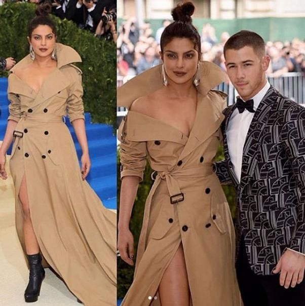 Show me a hotter picture on the #MetGala red carpet than this one of Priyanka Chopra & Nick Jonas. #Priyankachopra #Fashion #FashionIcon #fashionStyle #Bollywood #BollywoodActress #BollywoodStyle #Beautiful #Actress #Instafashion