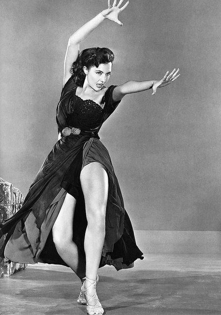 "Cyd Charisse - ""Sombrero"" (1953) - Costume designer : Helen Rose"