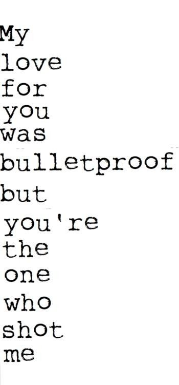 fuck-logic-i-am-awesome:  Pierce The Veil - Bulletproof Love