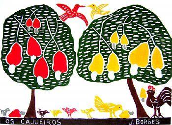 José Francisco Borges, mais conhecido como J. Borges é um dos artistas folclóricos mais celebrados da América Latina e o xilogravurista brasileiro mais reconhecido no mundo. Ele nasceu em 20 de dezembro de 1935 em Bezerros, Pernambuco. // José Francisco Borges, aka J. Borges is one of the most celebrated folk artists in Latin America and the most recognized in the world brazilian xilogravurista. He was born on December 20, 1935 in Bezerros, Pernambuco.