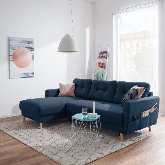 Ecksofa Sola Flachgewebe Kaufen Home24 Ecksofas Ecksofa Gestaltung Kleiner Raume