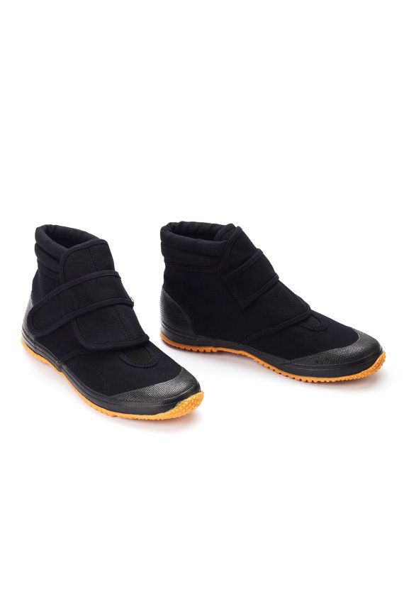 FUGU, cool Japanese shoes.    UNAGI - Ankle-high, ultra-light, soft and comfortable shoe. Velcro scotch grips the ankle for maximum hold