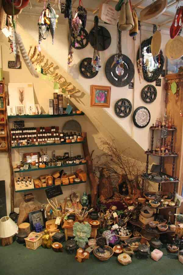 Store in Glastonbury UK I've never been but my friends highly recommended it. I really should start a board for Pagan Shops as they fascinate me so much!