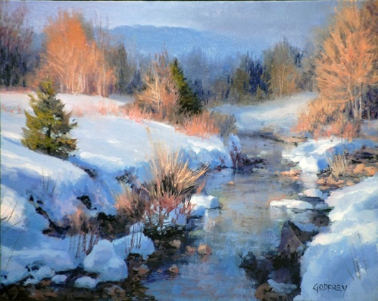 First Snow, by Michael Godfrey