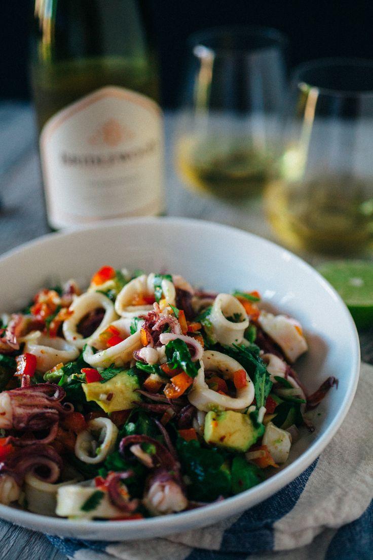 Summer Squid Salad