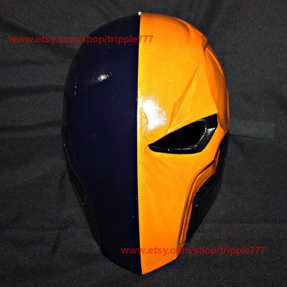 Deathstroke Arkham Deathstroke Mask Deathstroke by tripple777
