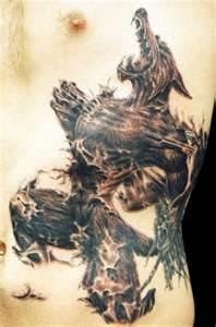 Custom Werewolf Tattoos