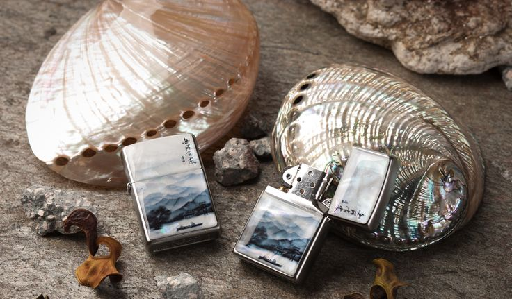 http://www.antiquealive.com/store/detail.asp?idx=5165&CateNum=167&pname=Zippo-Mother-of-Pearl-Cigarette-Lighter-with-Row-Boat-on-Lake-Painting- Zippo Mother of Pearl Cigarette Lighter with Row Boat on Lake Painting