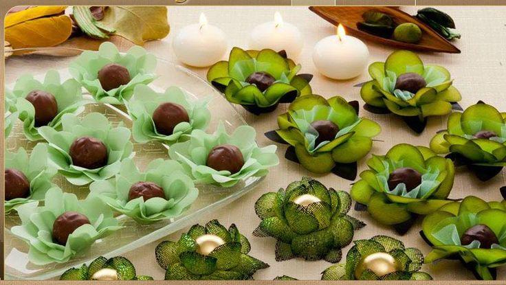 Forminhas para doces finos
