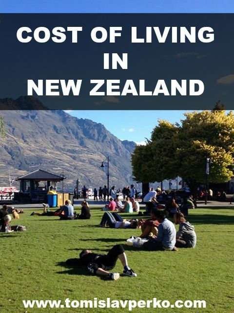 Cost of living in New Zealand #travel