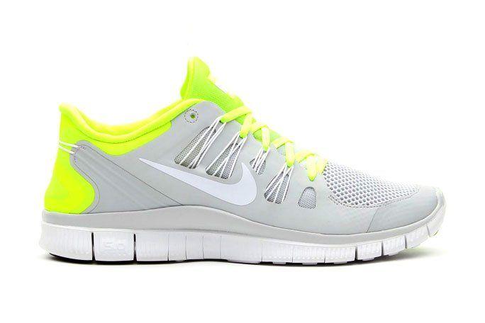 Nike Free 5.0+ Breeze Volt/Pure Platinum