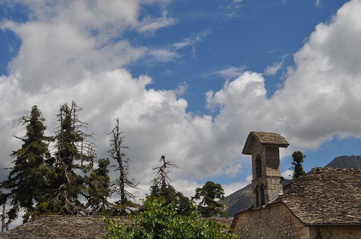 Φθινοπωρινό τοπίο στο μοναστήρι της Αγίας Παρασκευής