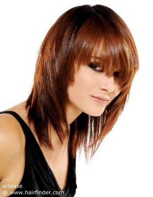medium size hair styles 73 best a prettier me images on hair style 2513
