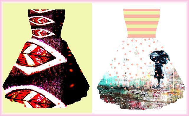 Uptist - my happy art : Cómo diseñar tu propio vestido y Cómo hacer un reg...