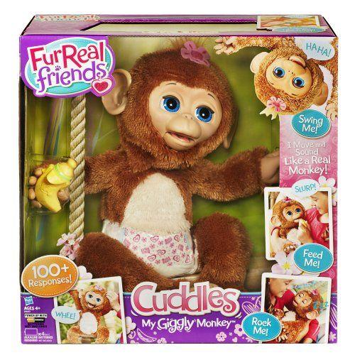 FurReal Friends Cuddles My Giggly Monkey Pet  http://www.bestdealstoys.com/furreal-friends-cuddles-my-giggly-monkey-pet/