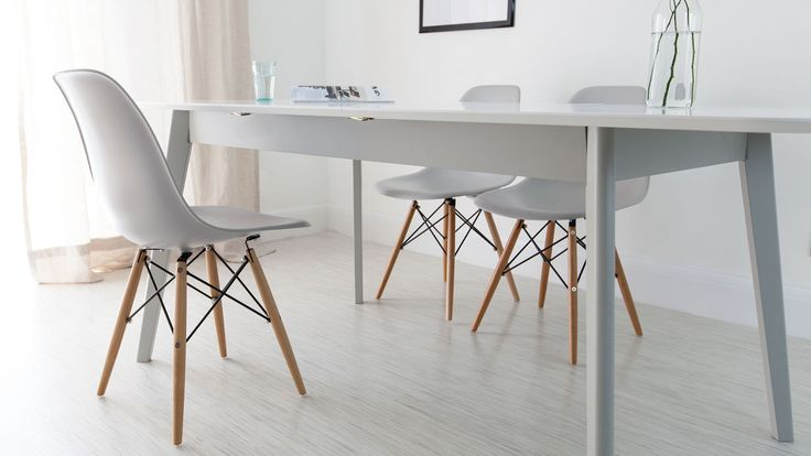Modern Grey Extending Dining Set- affordable style from Danetti