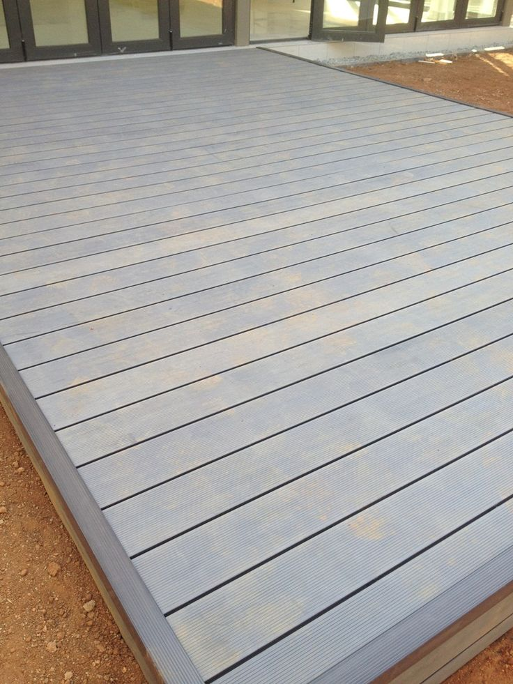 Deck done in Houghton