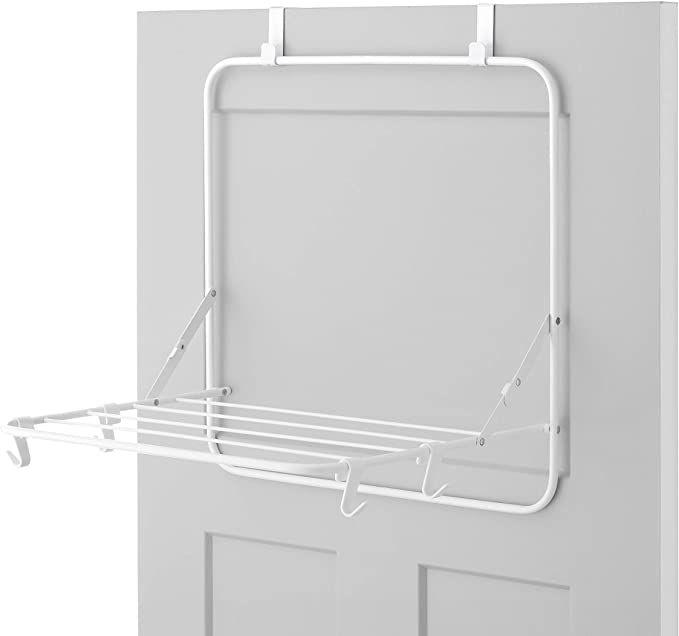 Amazon Com Whitmor Over The Door Drying Rack White Home Kitchen Wall Drying Rack Clothes Drying Racks Drying Rack