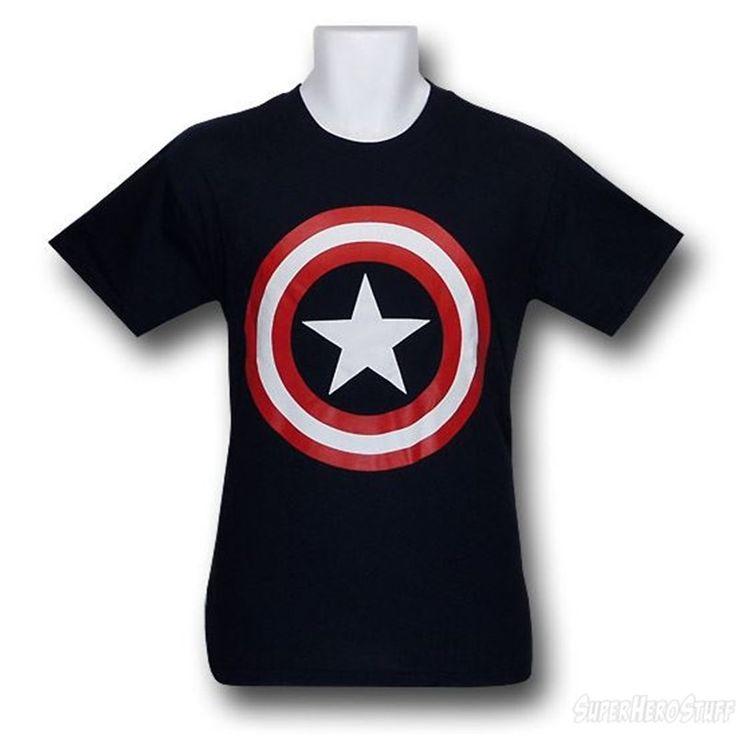 "Captain America T-Shirts"""