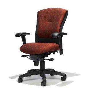 Ergonomic Tuxedo Managers High Back Chair