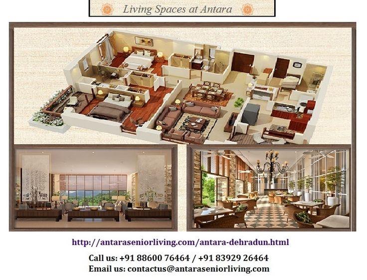 Antara is an active senior living community for progressive and active seniors. There design features merge seamlessly to make senior's exude an atmosphere of warmth, comfort and refinement.